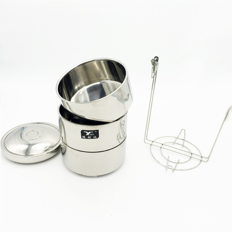 indian tiffin box/metal food container with handle/portable food carrier