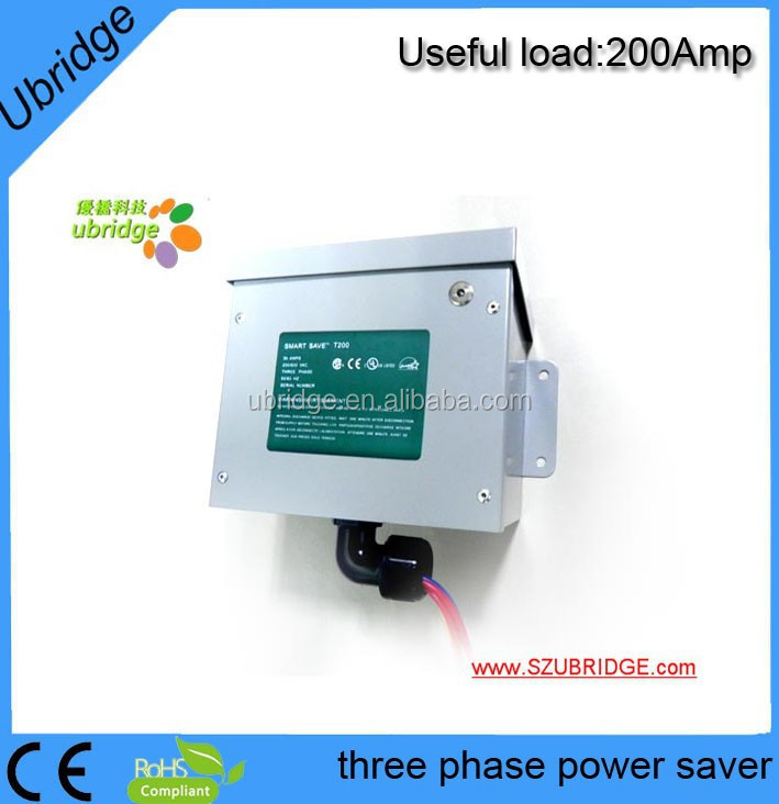 3 phase power saver/electric power saver/energy saving T200