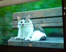 Built-in splicing controller lcd video wall screens with super narrow bezel 5.3mm