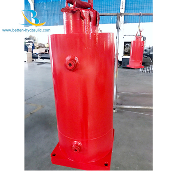 Custom Heavy Duty Hydraulic Cylinder 500 Ton Flange Mount