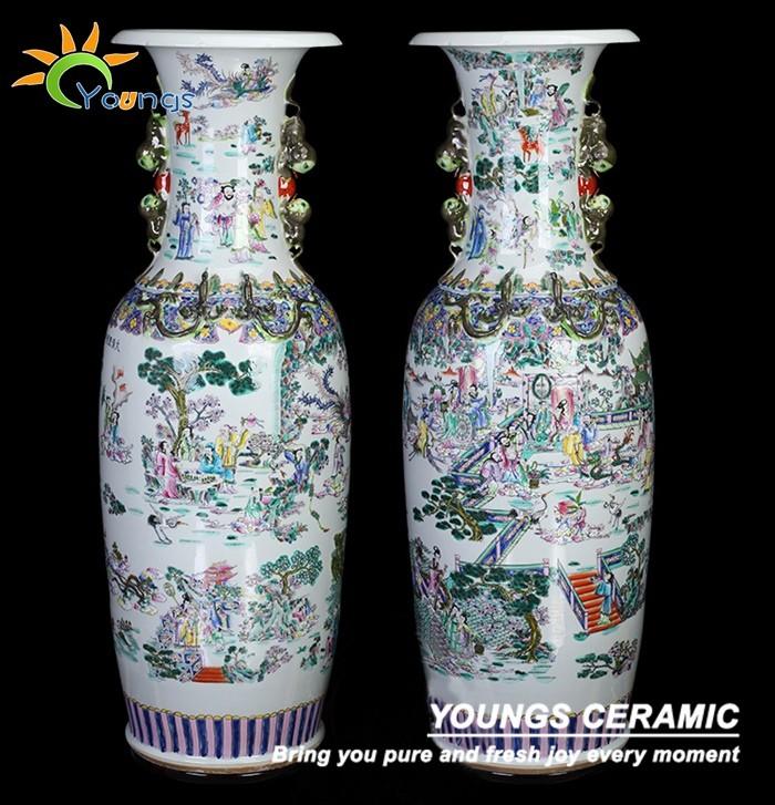 Verschiedene Antike Luxus 1 2 M Gross Grosse Chinesische Keramik Bunte