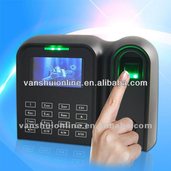 Fingerprint/rfid touch clave sistema de registro de tiempo con tcp/ip rs232/485 usb host/client