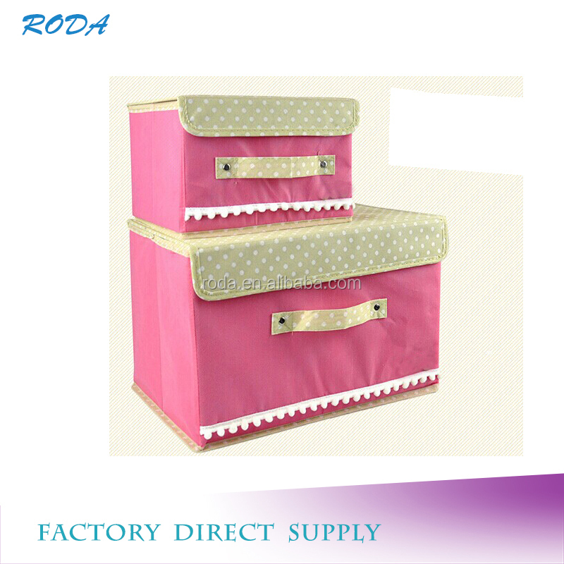 non woven storage drawer toy storage box