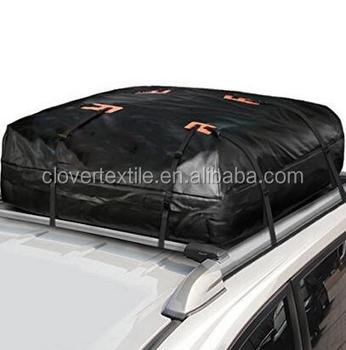 100 Waterproof Cargo Bag PVC Tarpaulin Car Roof Top Big