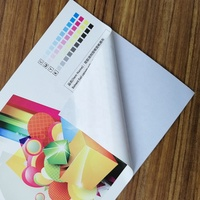 Water Resistant Eco Solvent Inkjet Printing Polyester Fabric With Adhesive for Wall Paper