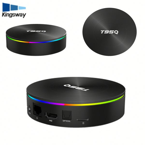 Android 8.1 4 gb 64 gb Amlogic S905X2 Quad Core 2.4g & 5.8g Dual Wifi T95Q BT4.1 1000 m H.265 4 k 60pfs Media Player Smart TV Box