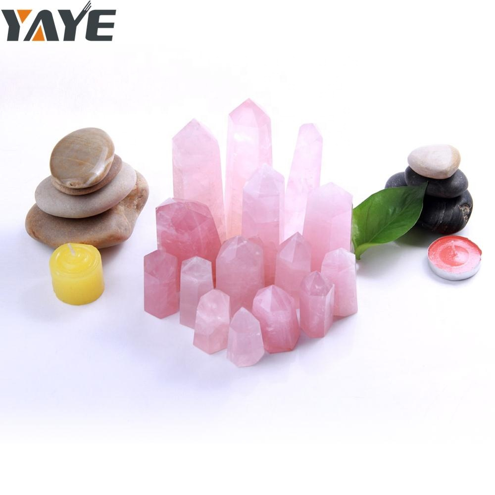 Wholesale High Quality Crystal <strong>Point</strong> Rose Quartz Healing Crystals
