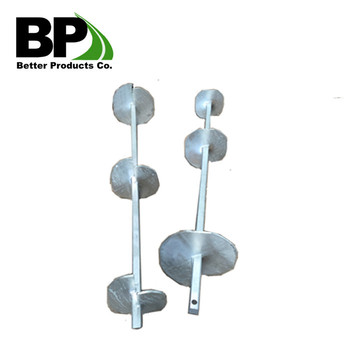 Backstay Ground Helical Anchors/piers - Buy Helix Anchor,Adjustable Ground  Anchor,Solar Ground Mounting Anchor Product on Alibaba com