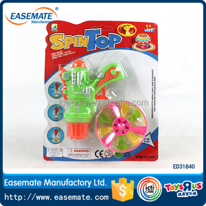 Plastic Toys Mini flash Super Spinning gyro ball Toy