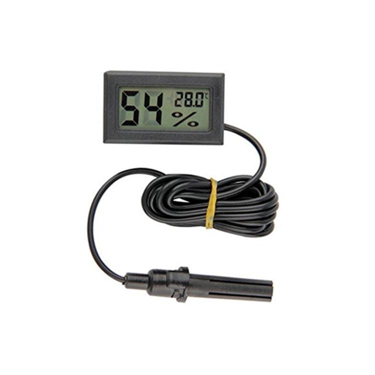 Werkzeuge Digital Lcd Thermometer 1 Stück Kühlschrank Thermometer Für Kühlschränke Gefriergeräte Kühler Aquarium Kältemaschinen Mini 1 Mt Probe Schwarz Temperatur Instrumente