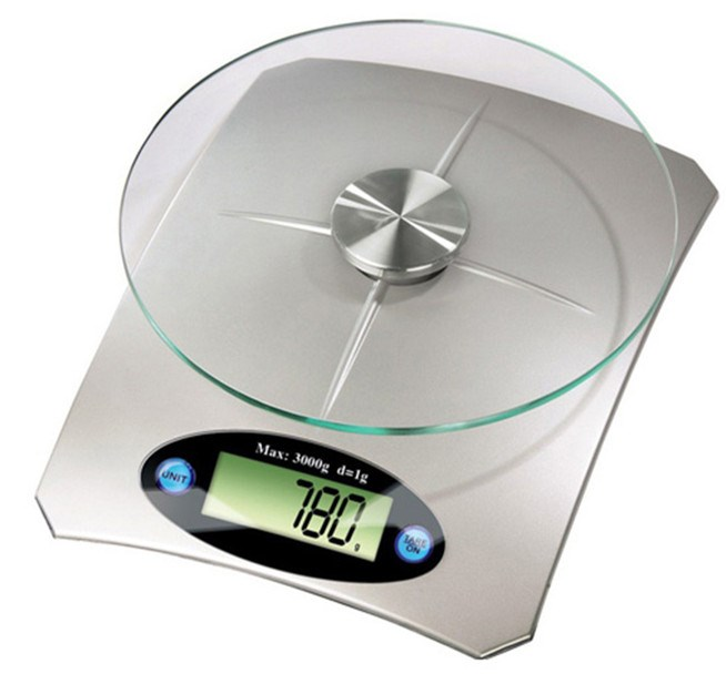 LCD Backlight digital multifunction kitchen and food electronic scale