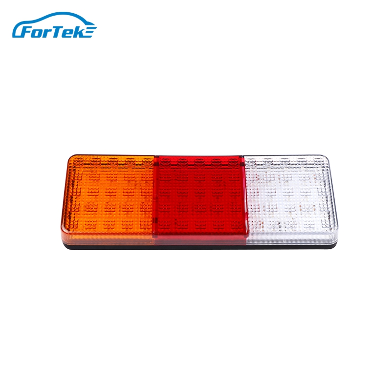 6 pieces 24V hamburger universal LED rear tail marker lights lamps for lorry truck trailer chassis tractor van