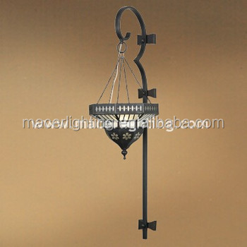 Moroccan style deco antique brass wall bracket light fitting wholesale