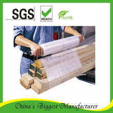 Stretch Wrap Extended Core Bundling pe super clear Packaging film