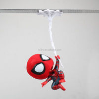 Q Version Heroes Hanging Rope Vinyl Figures Toys/ custom 3d innovative souvenirs vinyl figure toy