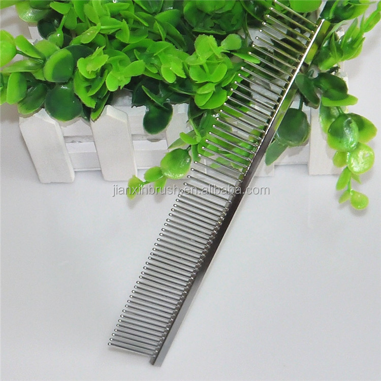 2015 useful pet dogs grooming metal teeth pocket comb