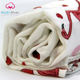 100% bamboo Muslin newborn blanket cotton fabric adjustable flamingo popular custom print muslin swaddle super soft for baby