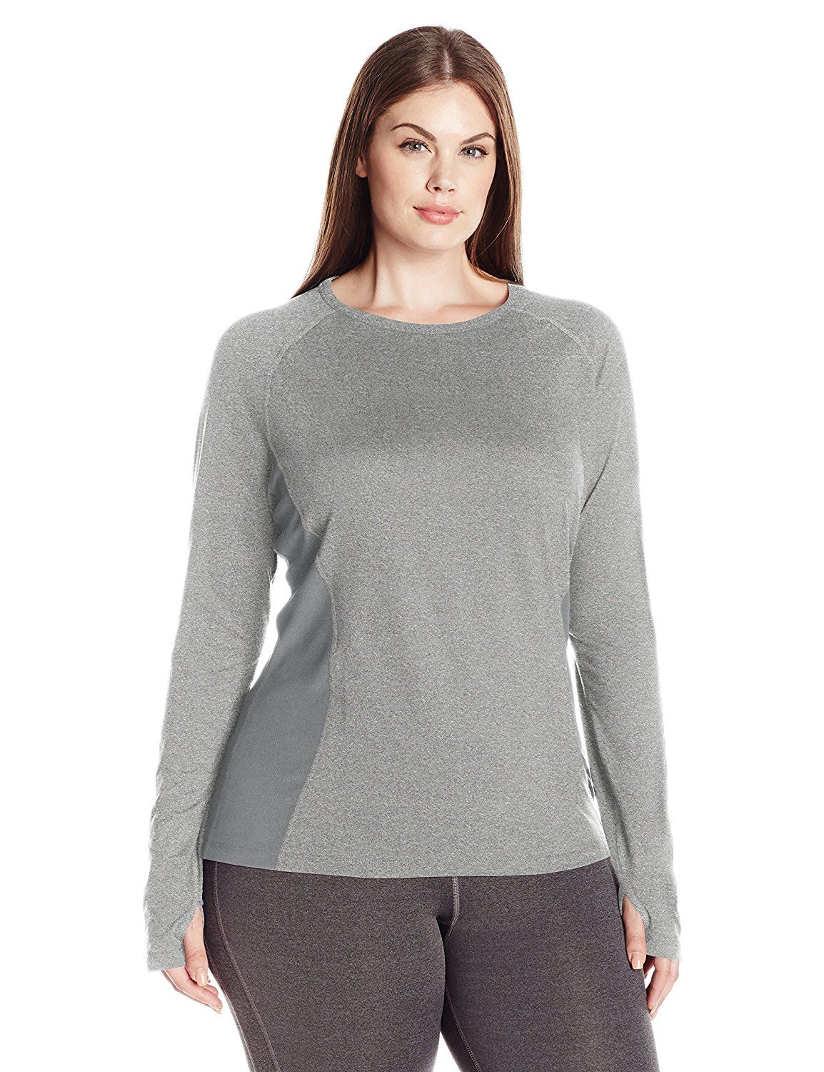 Fruit of the Loom Womens Plus Size Fit for Me Core Performance Thermal Top
