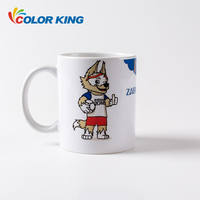 Top grade 11oz white ceramic sublimation cup blank sublimation mug with AAA
