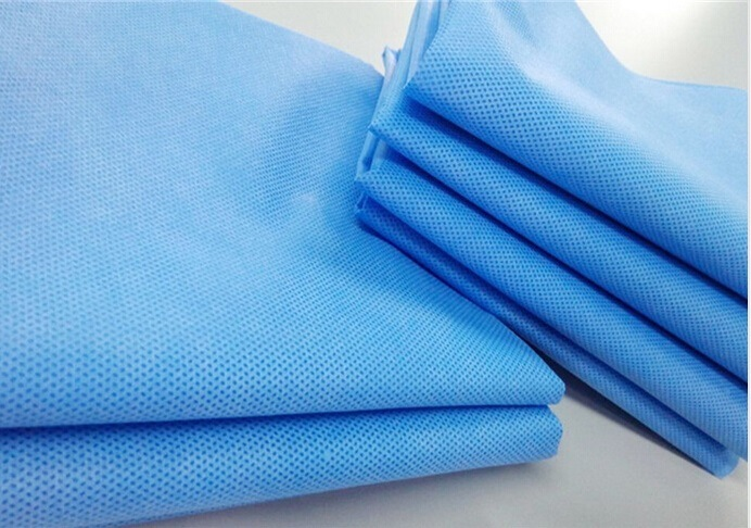 Factory promotion price hot sale colorful 100% spunlace polypropylene nonwoven sms fabric rolls