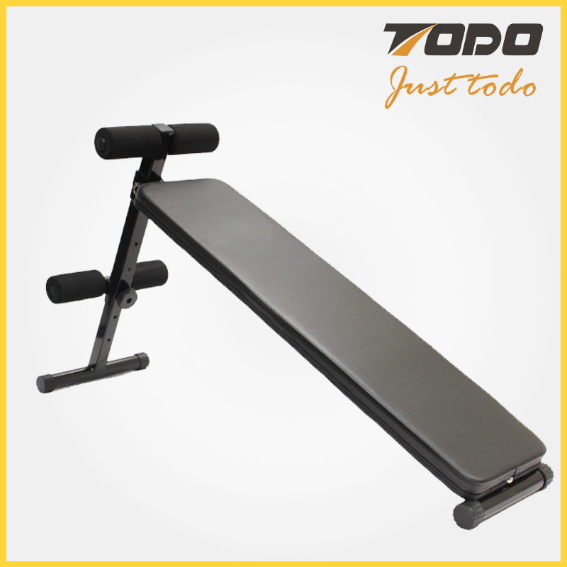 Foldable Abdominal Exercise Sit Up Bench Ab Trainer Machine