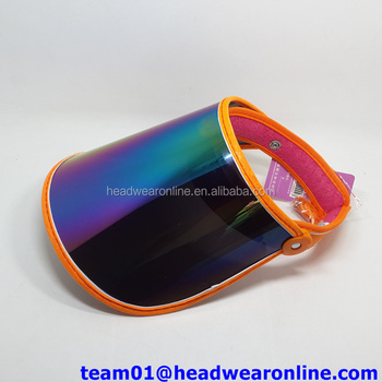Custom New Design Funny Sun Visor Hat Pvc Sun Visor - Buy Sun ... 6f5cba8a1c1