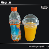 16 Oz PP Transparent Disposable Beverage Plastic Cup