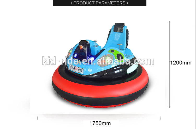 Indoor Amusement Park Inflatable  Bumper Car with  Colorful Lights Bumper Car for Kids