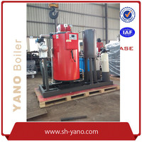 100kg/hr Vertical 0# Diesel Oil Fired Steam Boiler used for Fruit Pulp Disinfection & Steralization