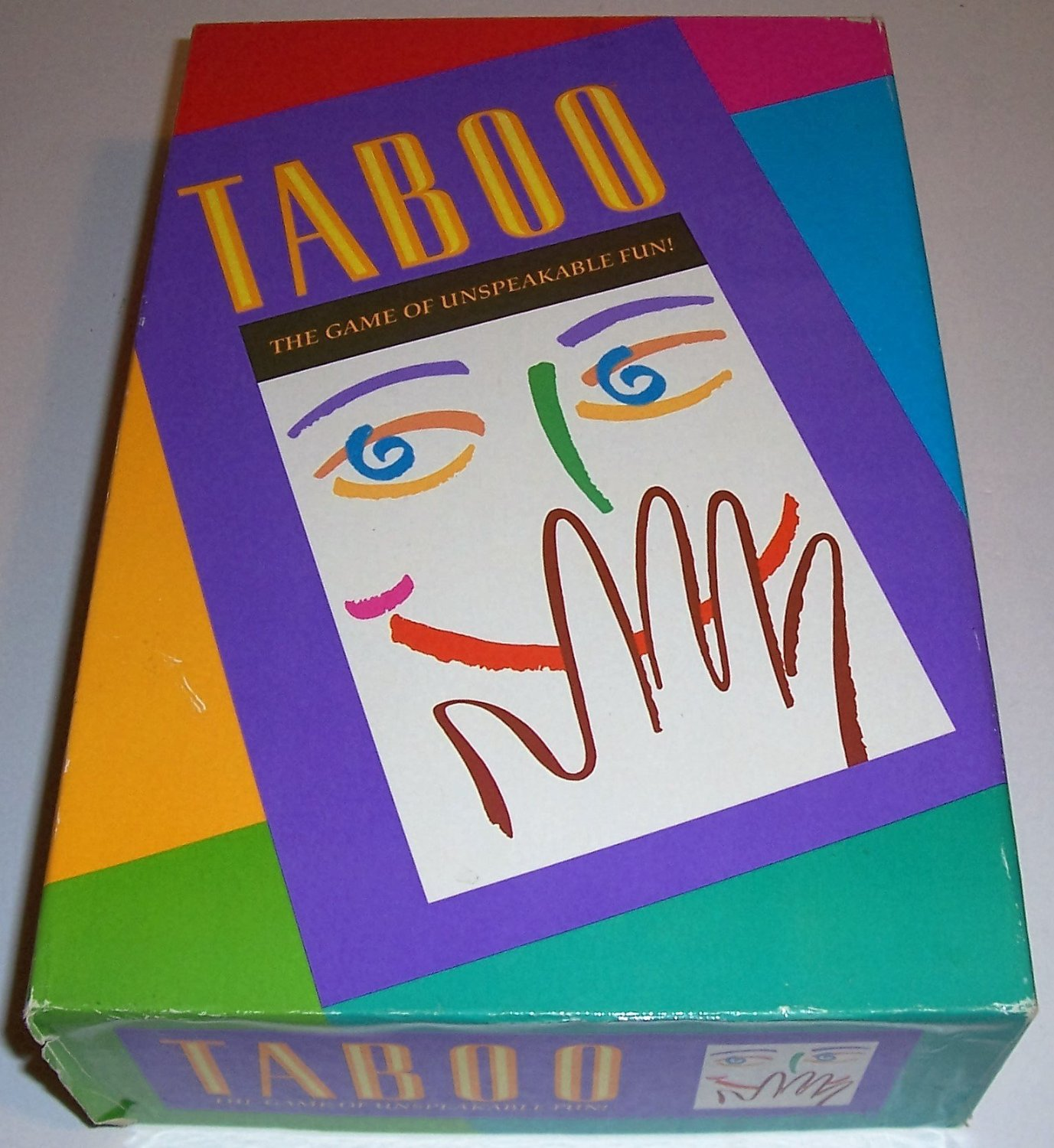 Milton Bradley Taboo - the Game of Unspeakable Fun (1989 Edition)