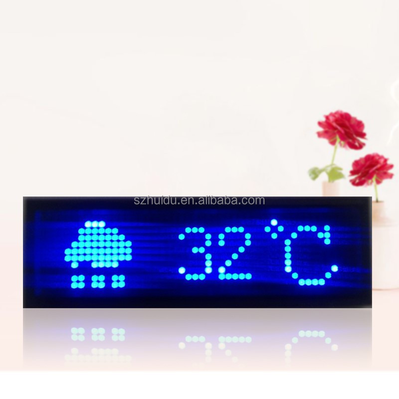 programmed LED name badge,led scrolling message card,usb recharge battery led name tags.cheap price led tags