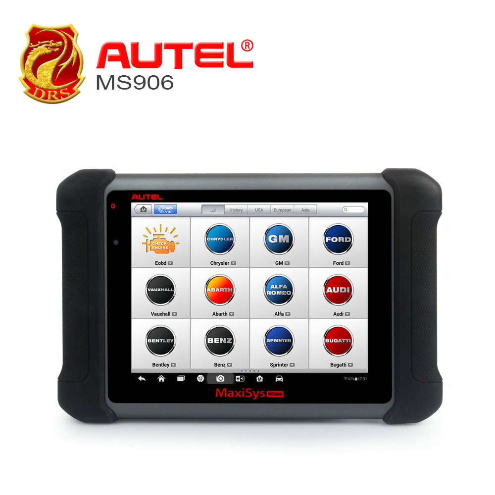 Autel Maxisys ms906 Car Diagnostic Tool Automotive Scanner Android Analysis System with Advanced Coding Online Update