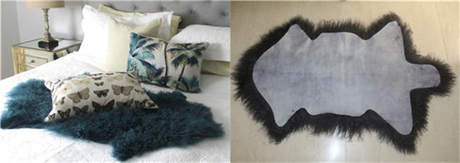 Curly Long Hair Tibetan Mongolian Sheepskin Fur Rugs Buy