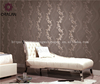Korea contry style beautiful wall paper flower wallpaper from China