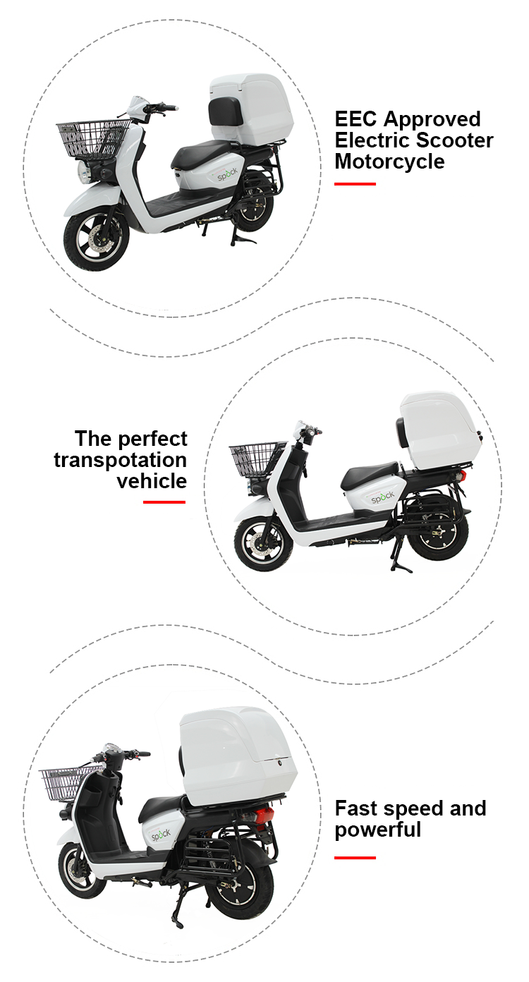 long range EEC approval heavy loading food delivery electric motorcycle