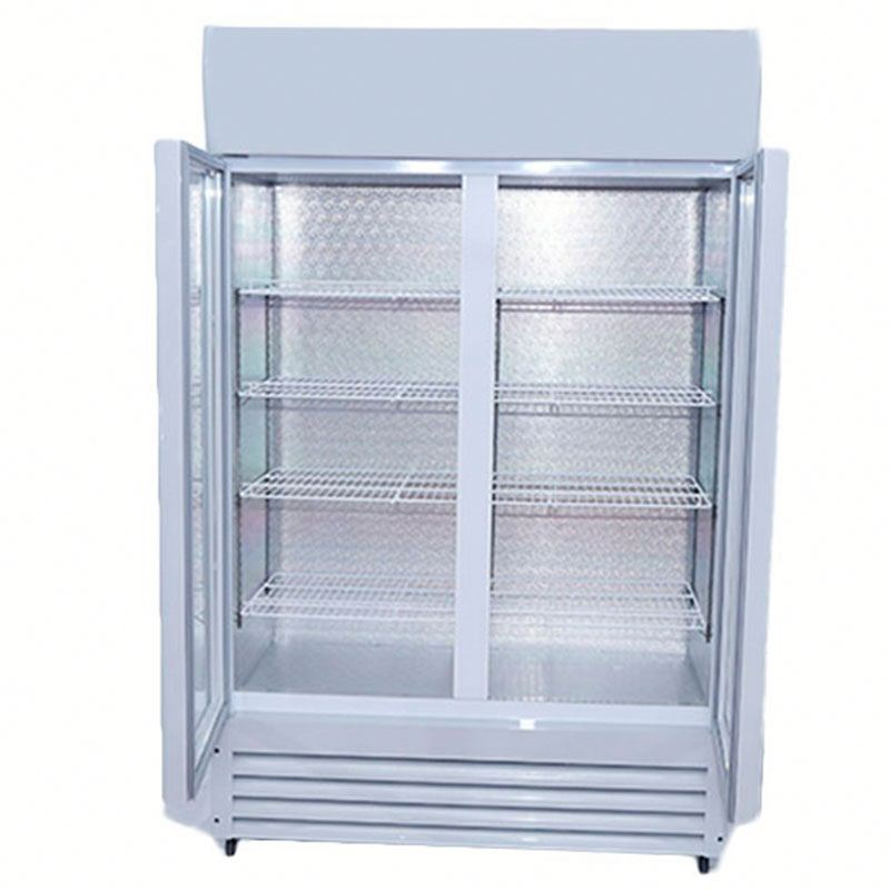 Used display freezer display refrigerator showcase upright cooler
