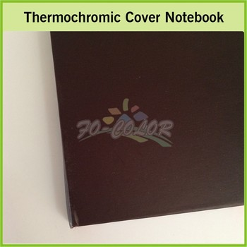 Fashion Design Paper Color Changing Note Book Decorating School