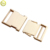 Gold without pin metal fittings of handbag slide buckle for bag parts