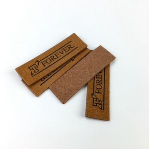 Fake Leather Fashion Design High Quality Custom Leather Patches
