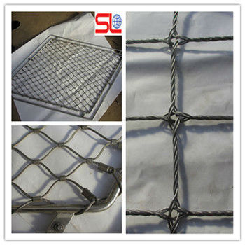 Stair Stainless Steel Wire Rope Fence Mesh,Fall Protection Rope ...