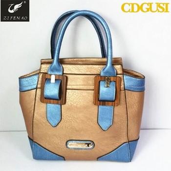 China Guangzhou Fashion Pu Leather Women Handbag Bags Womens Retail