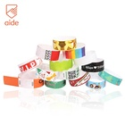 Water Proof Disposable Gliding Tyvek Printable Paper Tickets wristbands ID Bracelets For Events