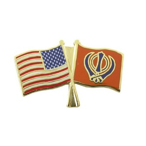 Commemorate promotional metal patriotic cross us flag lapel pins