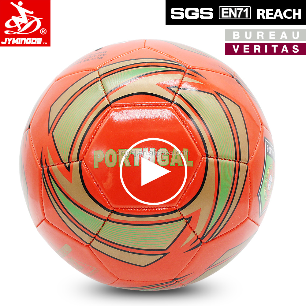 Durable new arrival soccer ball tpu eva football for match
