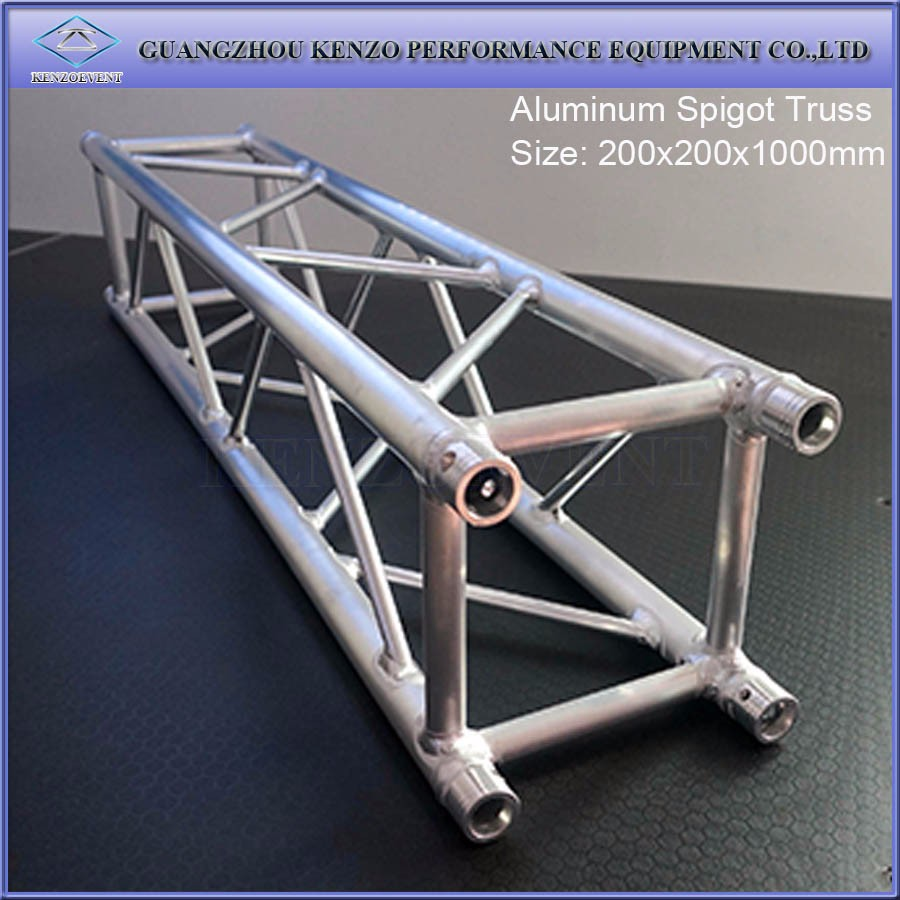 Aluminum lighting truss industrial roof truss design buy for Buy trusses