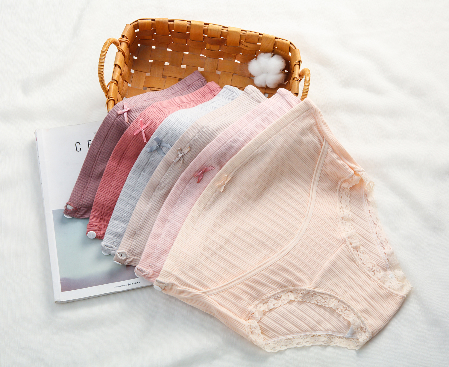 High-waist Maternity Panties Women Pregnant Briefs Clothes Pregnancy Underwear Stretch Cotton Fabric Wholesale