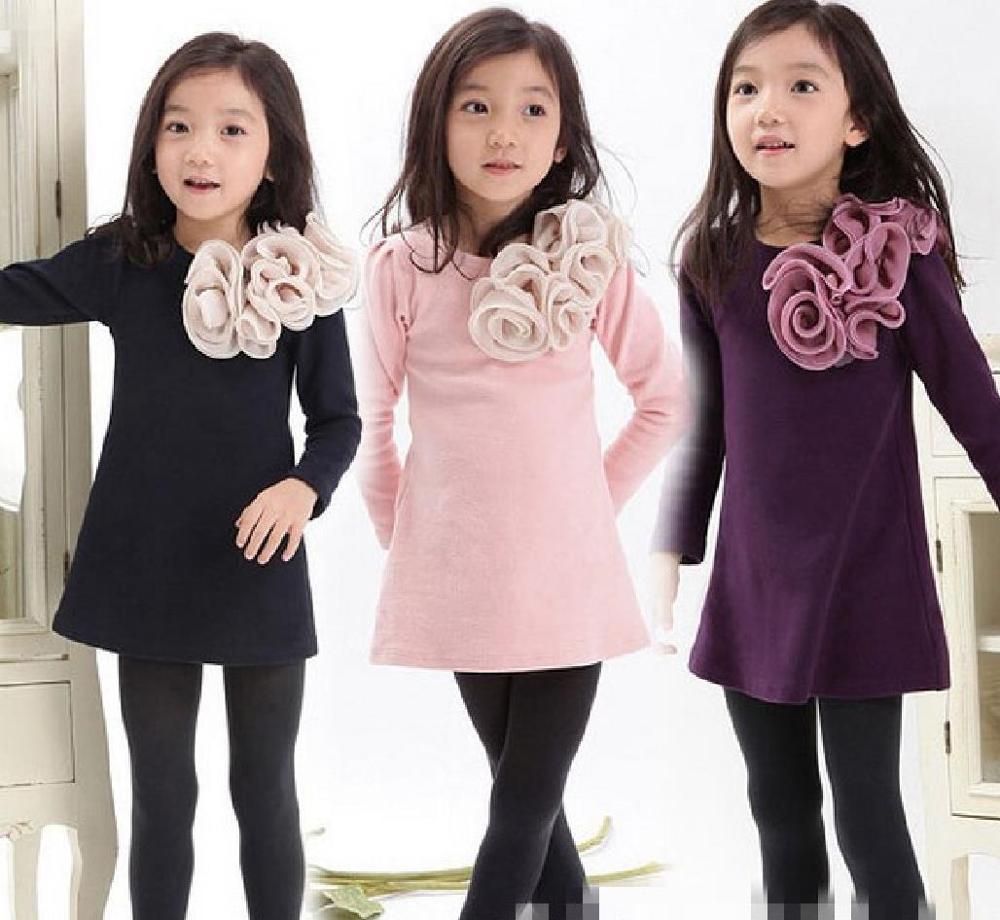 Venta al por mayor vestir chicas de moda-Compre online los mejores ...