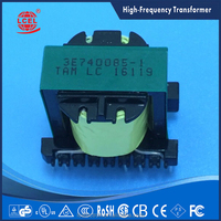 Hot Sale vertical type FER29 high voltage frequency transformer by factory,accept customized