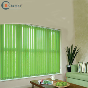 Electric Remote Control Vertical Blinds Retractable Curtain