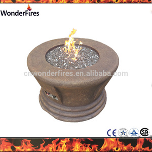 Top Sale BBQ Brazier Outdoor Table Fire Pit/Garden patio Magnesia Propane fire pit table with CE
